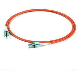 China LC / UPC - LC / UPC multimode patch cord , Duplex uniboot fiber optic jumper supplier