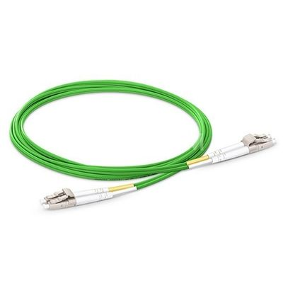 2.0mm OM5 Fiber Optic Patch Cord , Lc To Lc Multimode Fiber Patch Cable 850/1300nm Wavelength