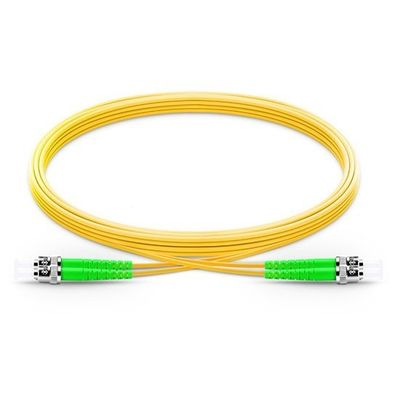 High Performance G652D Single Mode Duplex Fiber Optic Cable FC To FC For Communication