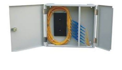 Outdoor Compact Fiber Optic Termination Box 24 Cores With SC / FC Port