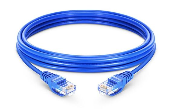 Cat5e LAN Network Cable Unshielded Network Cable With Stranded Bare Copper
