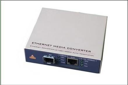 1000M TP Port Speed Fiber Optic Media Converter With Full / Half Duplex Mode